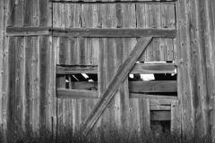 Barn Door with Eyes